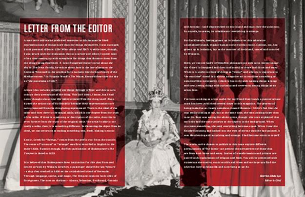 Her Royal Majesty magazine