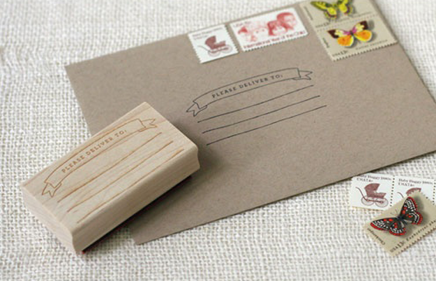 sellos carvados para cartas