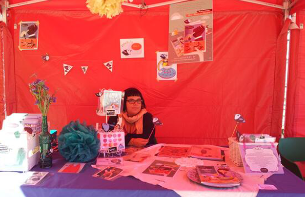 I Feria de Fanzines en festival triBU