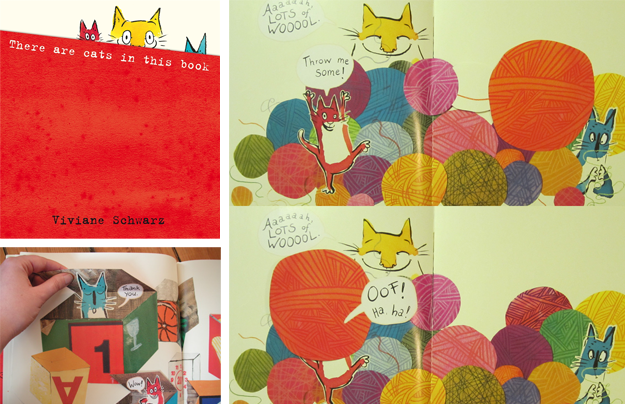 Viviane Schwarz - There are cats in this books