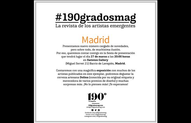 Fiesta presentación Madrid Marzo 2015